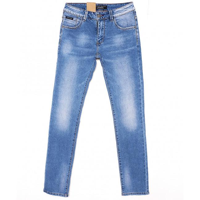 2059 Fang джинсы мужские молодежные с теркой весенние стрейчевые (28-34, 8 ед.) Fang: артикул 1087821
