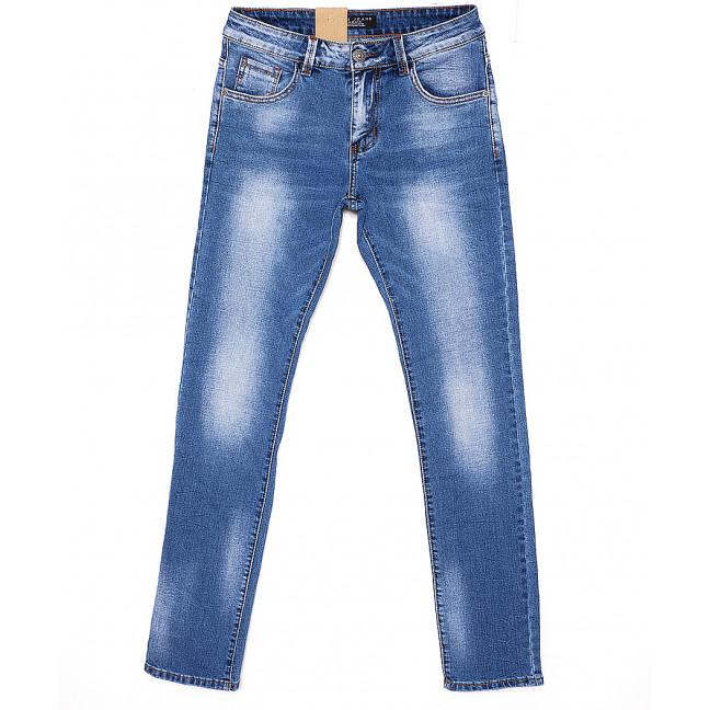 2063 Fang джинсы мужские молодежные с теркой весенние стрейчевые (28-34, 8 ед.) Fang: артикул 1087809