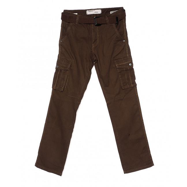 1672-1 черные Iteno брюки мужские карго демисезонные стрейч-котон (30-38, 6/12 ед.) Iteno: артикул 108862611