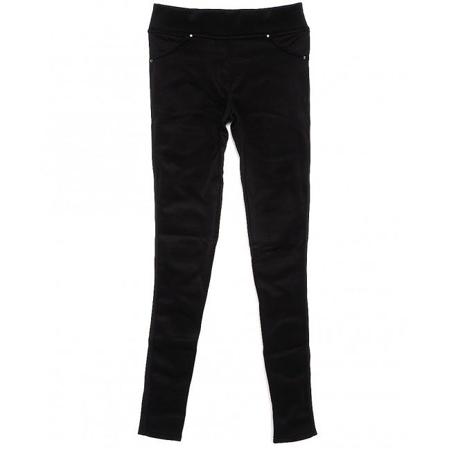 0125 X лосины черные из дайвинга весенние стрейчевые (42-46, 3 ед.) X: артикул 1089417