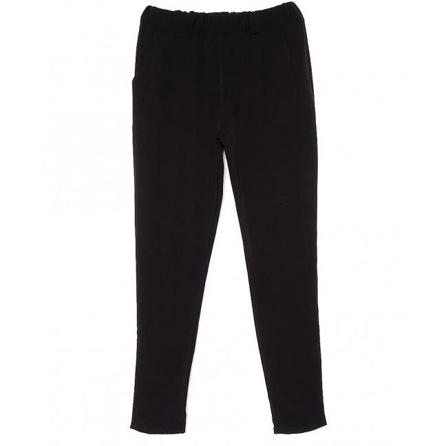 0527 X брюки женские черные весенние стрейчевые (40-46, 4 ед.) X: артикул 1089412