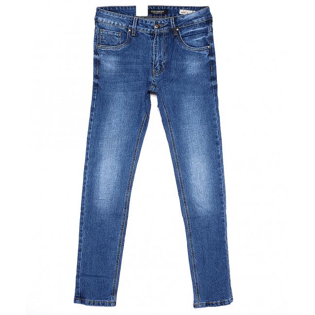9167 God Baron джинсы мужские молодежные зауженные весенние стрейчевые (28-34, 8 ед.) God Baron: артикул 1090855