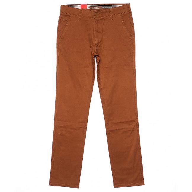 0037-D-37 Feerars брюки мужские батальные светло-коричневые весенние стрейчевые (32-40, 8 ед.) Feerars: артикул 1090587