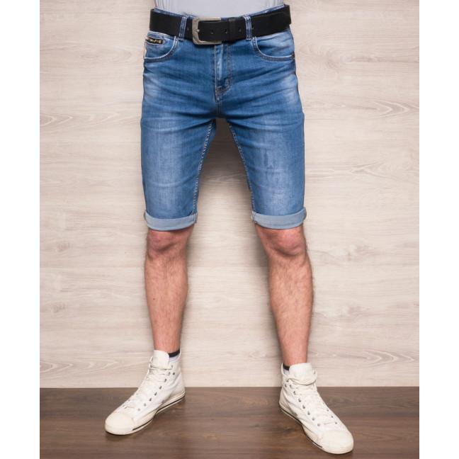 Шорты джинсовые мужские молодежные с ремнем Resalsa 6041 Resalsa: артикул 1093278