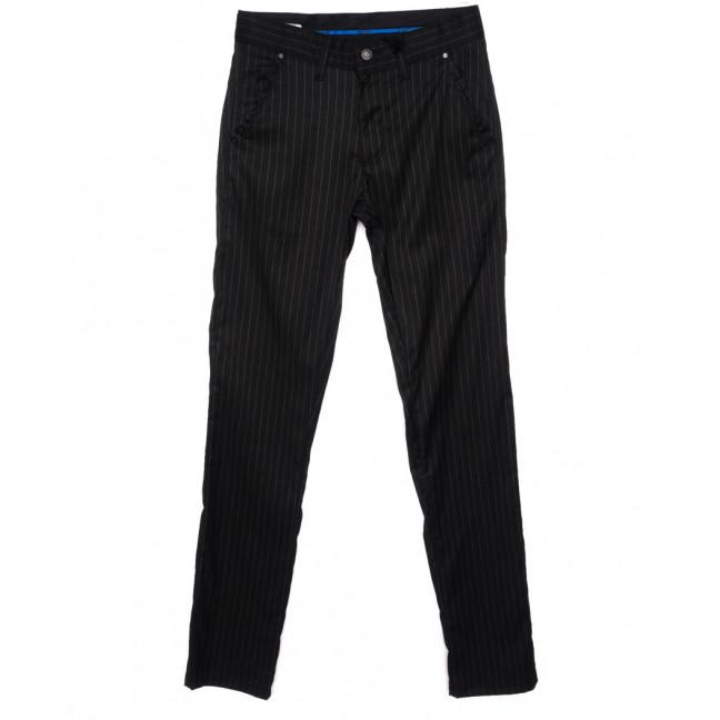 2027-005 Lenciro брюки мужские молодежные в полоску весенние стрейч-котон (28-36, 8 ед.) Lenciro: артикул 1094006