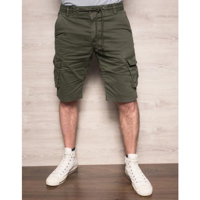 Шорты мужские с боковыми карманами хаки X-FEEL 77876-26 X-FEEL: артикул 1093283