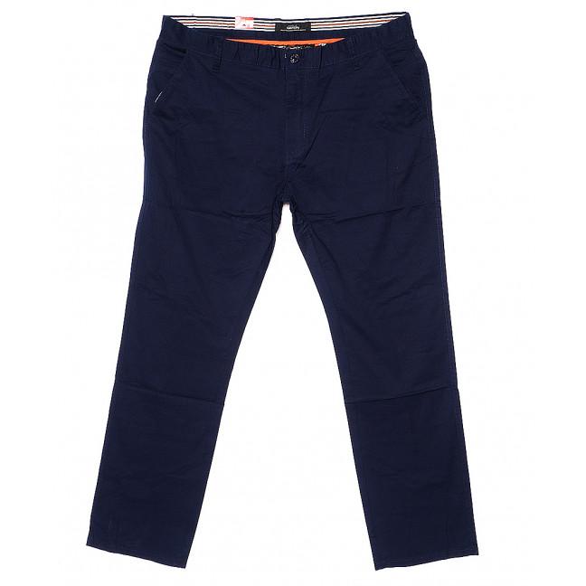 0029-1 Feerars брюки мужские батальные синие весенние стрейчевые (34-44, 8 ед.) Feerars: артикул 1093552