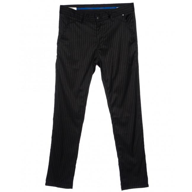 2026-006 Lenciro брюки мужские в полоску весенние стрейч-котон (31-38, 8 ед.) Lenciro: артикул 1094005