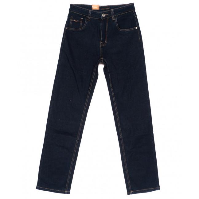 120210 LS джинсы мужские классические темно-синие осенние стрейчевые (30-38, 8 ед.) LS: артикул 1094612