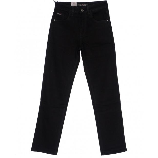 120228 LS джинсы мужские классические черные осенние стрейч-котон (29-38, 8 ед.) LS: артикул 1094599