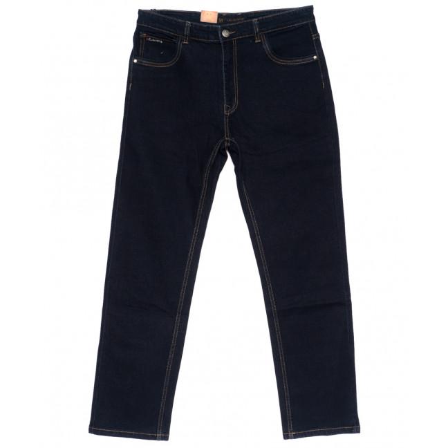 120218-D LS джинсы мужские батальные классические темно-синие осенние стрейчевые (34-42, 8 ед.) LS: артикул 1094615