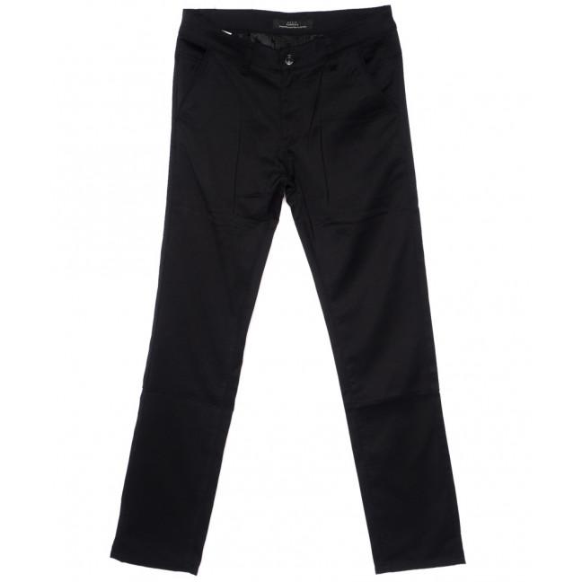 0203-1 Pobeda брюки мужские батальные черные стрейч-котон (32-38, 8 ед.) Pobeda: артикул 1094498