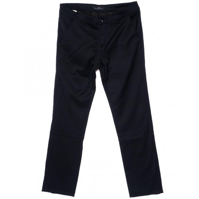0203-2 Pobeda брюки мужские батальные темно-синие стрейч-котон (32-42, 8 ед.) Pobeda: артикул 1094497