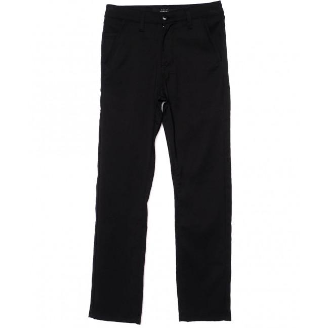 0028-1 Pobeda брюки на мальчика черные осенние стрейч-котон (30-35, 6 ед.) Feerars: артикул 1095027