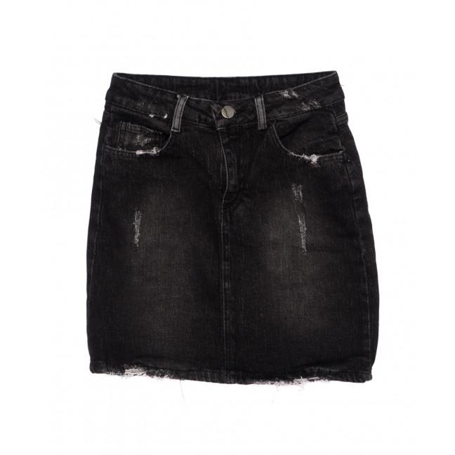 60633-темно-серая Defile юбка джинсовая осенняя стрейчевая (34-40, евро, 6 ед.) Defile: артикул 1096162