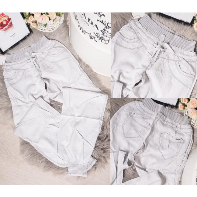 0039 Vonass брюки женские на резинке летние стрейчевые (25-30, 6 ед.) Vonass: артикул 1095321