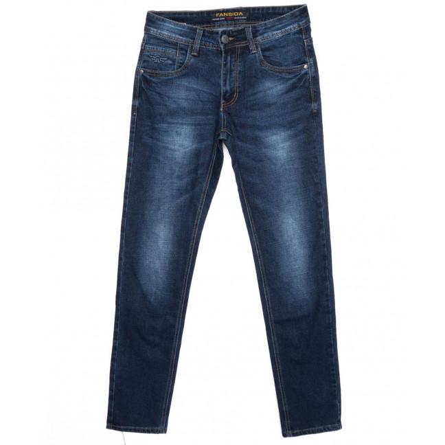 6107 Fansida джинсы мужские классические осенние стрейчевые (29-38, 8 ед.) Fansida: артикул 1096591