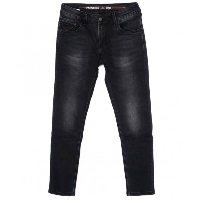 8171 Fangsida джинсы мужские молодежные темно-серые осенние стрейчевые (28-36, 8 ед.) Fangsida: артикул 1096620