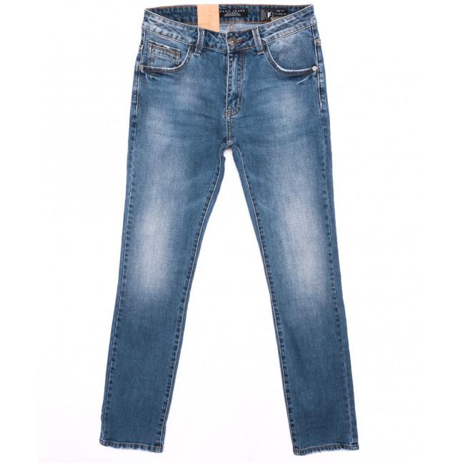 2138 Fang джинсы мужские синие осенние стрейчевые (30-38, 8 ед.) Fang: артикул 1095537