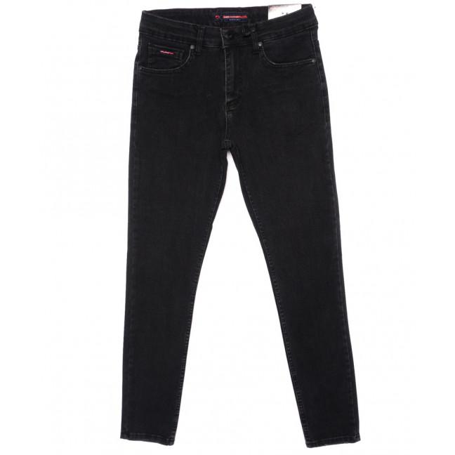 0473 Red Moon джинсы мужские черные зауженные осенние стрейчевые (29-36, 7 ед.) Red Moon: артикул 1096326