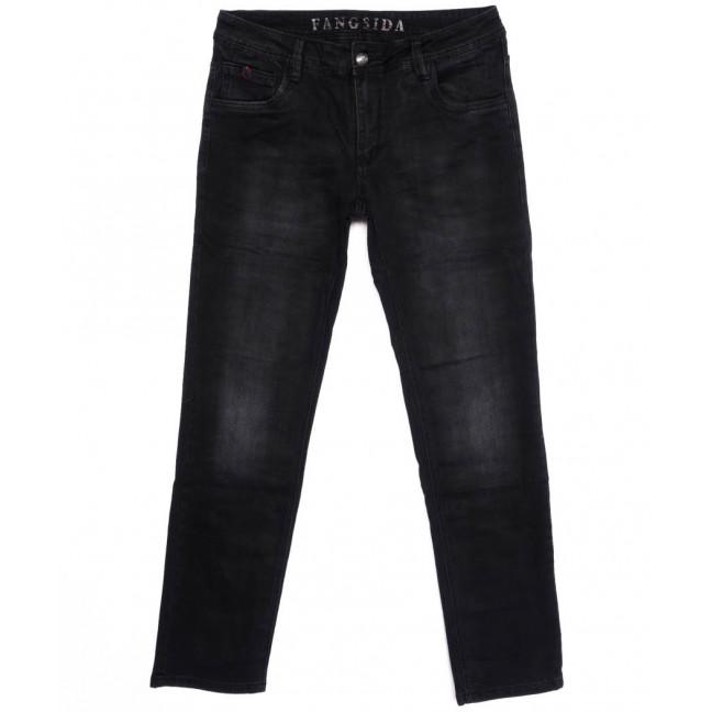 8201 Fangsida джинсы мужские темно-серые осенние стрейчевые (30-38, 8 ед.) Fangsida: артикул 1096607