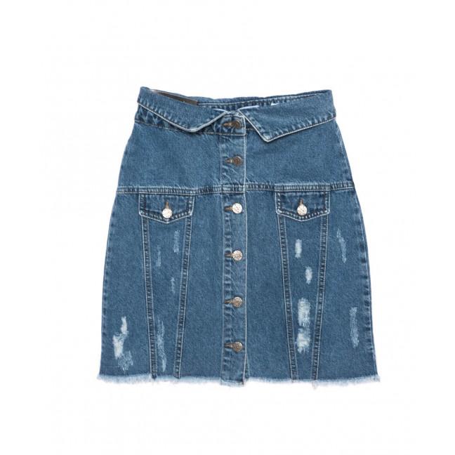 3026 Miele юбка джинсовая модная синяя осенняя котоновая (34-40, евро, 5 ед.) Miele: артикул 1096757