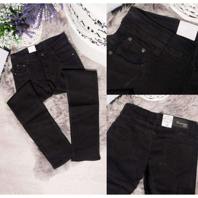 1033 черный Devotee джинсы женские батальные осенние стрейчевые (30-36, 6 ед.) Devotee: артикул 1095861_1