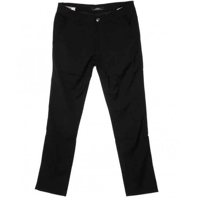 0206-1 Feerars брюки мужские черные осенние стрейч-котон (29-38, 8 ед.) Feerars: артикул 1095214