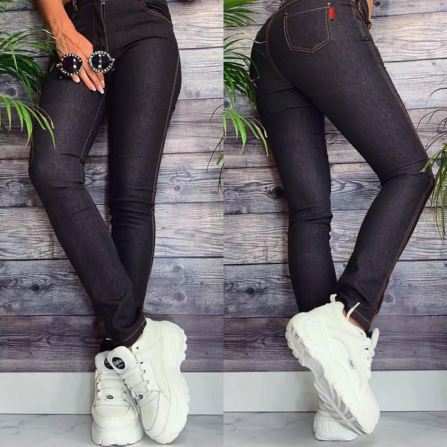 0981-1 Kadeqi брюки женские текстильные тонкие стрейчевые (25-30, 6 ед.) Kadeqi: артикул 1095604
