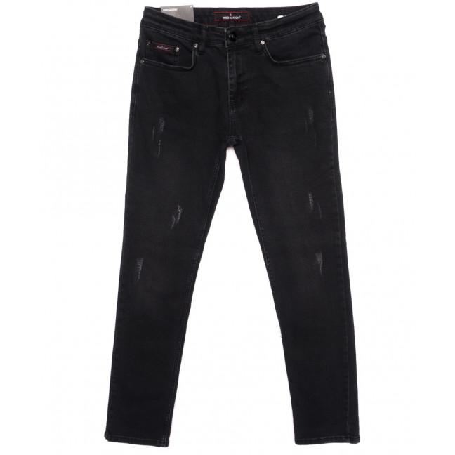 0302 Red Moon джинсы мужские с царапками зауженные осенние стрейчевые (29-36, 7 ед.) Red Moon: артикул 1096323