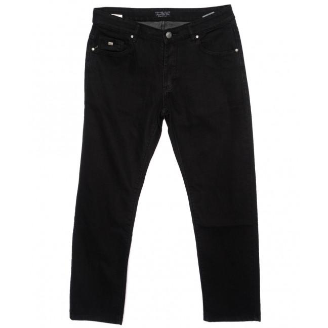 0569-10 Likgass джинсы мужские батальные черные осенние стрейчевые (34-42, 8 ед.) Likgass: артикул 1095429