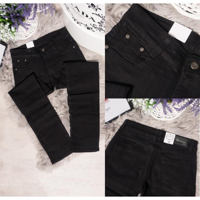 1036 черный Devotee джинсы женские батальные осенние стрейчевые (30-36, 6 ед.) Devotee: артикул 1095861