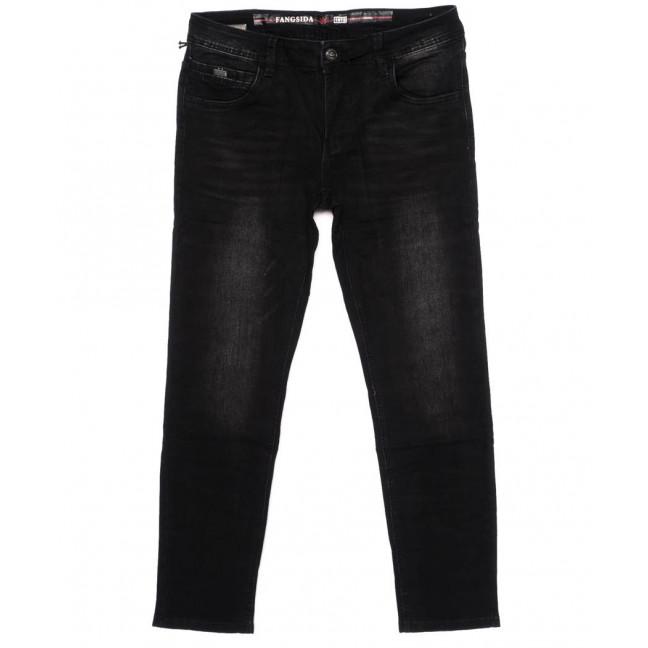 8176 Fangsida джинсы мужские темно-серые осенние стрейчевые (30-38, 8 ед.) Fangsida: артикул 1096624