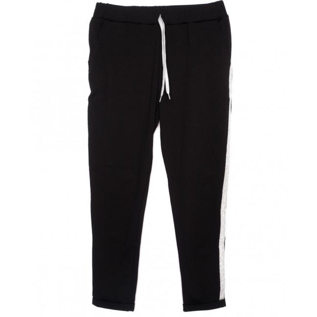 0514-светлый лампас X брюки женские черные с лампасами осенние стрейчевые (42-46, норма, 3 ед.) X: артикул 1096071