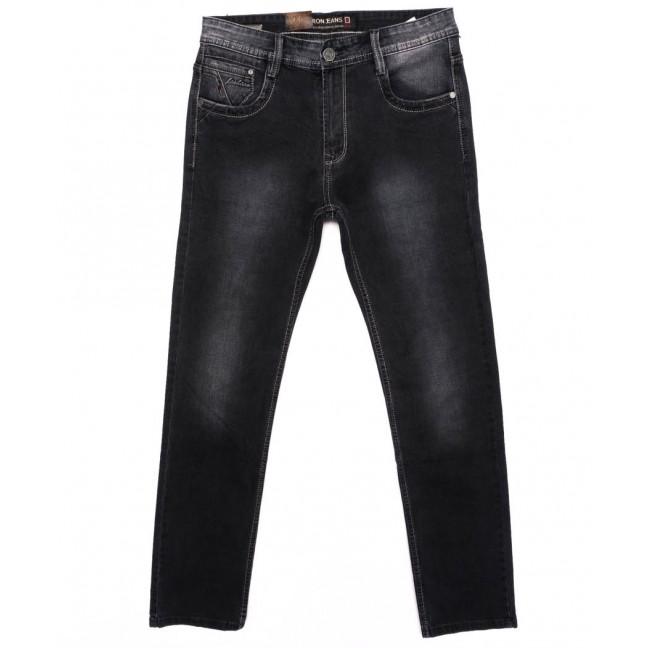 9140 Baron джинсы мужские батальные серые осенние стрейчевые (32-38, 8 ед.) Baron: артикул 1095788