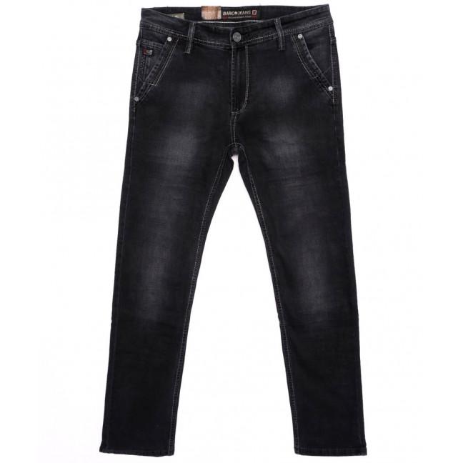 9145 Baron джинсы мужские батальные серые осенние стрейчевые (32-38, 8 ед.) Baron: артикул 1095779
