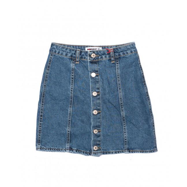2889 mavi XRAY юбка джинсовая на пуговицах осенняя котоновая (34-40, евро, 6 ед.) XRAY: артикул 1096473