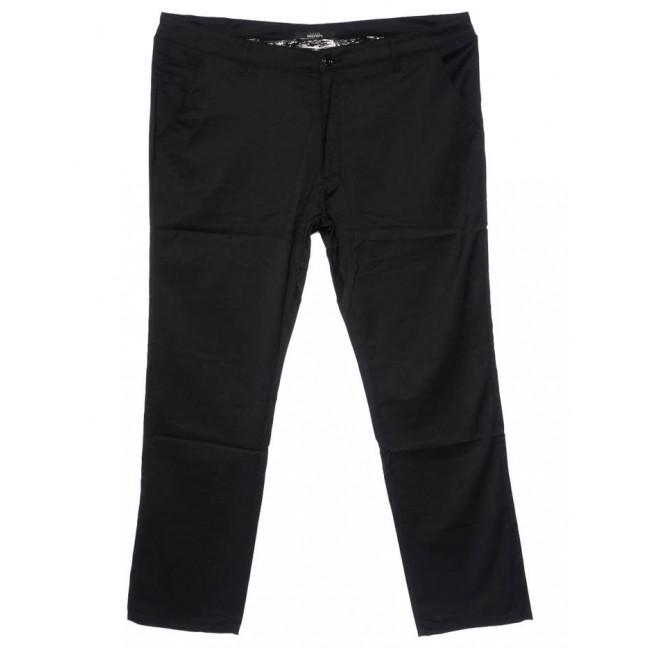 0218-1 Feerars брюки мужские батальные классические черные осенние стрейчевые (36-46, 8 ед.)  Feerars: артикул 1096164