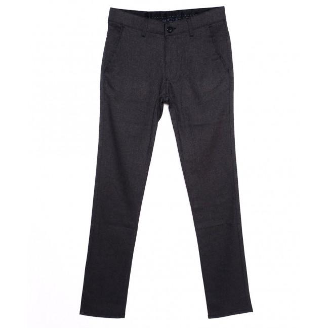0294-KALIN-IZMIR-4 Missouri брюки мужские классические темно-серые осенние стрейч-котон (29-36, 7 ед.) Missouri: артикул 1095807