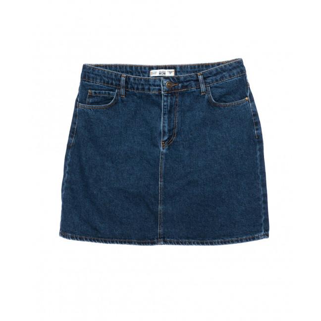 6010-01 Real Focus юбка джинсовая батальная женская синяя осенняя котоновая (30-34, 5 ед.) Real Focus: артикул 1096976