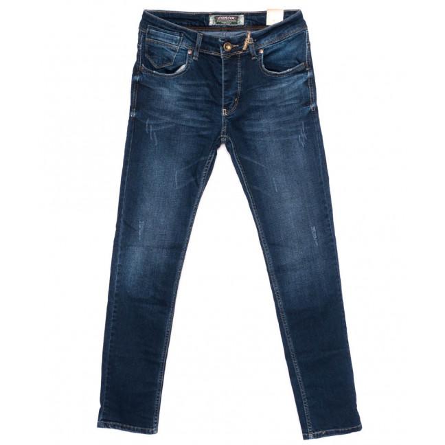 6051 Corcix джинсы мужские с царапками синие осенние стрейчевые (29-36, 8 ед.) Corcix: артикул 1098384