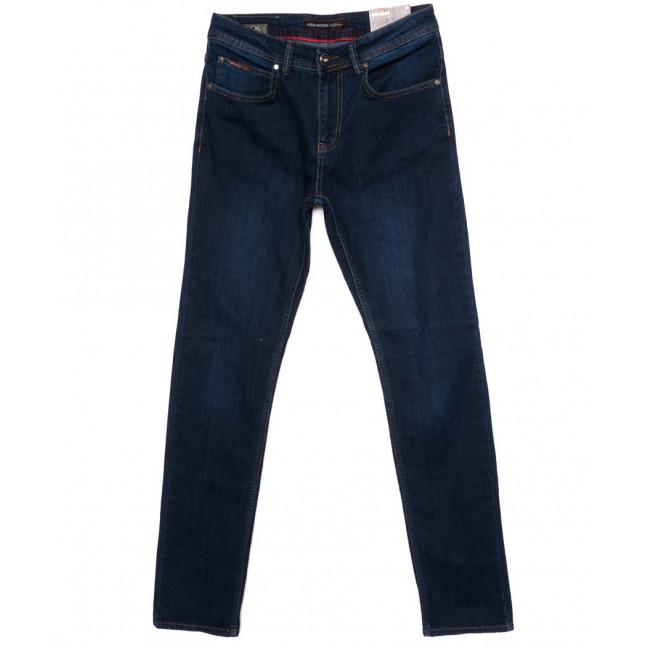 0173 Red Moon джинсы мужские синие осеннии стрейчевые (31-38, рост 38, 6 ед.) Red Moon: артикул 1098581
