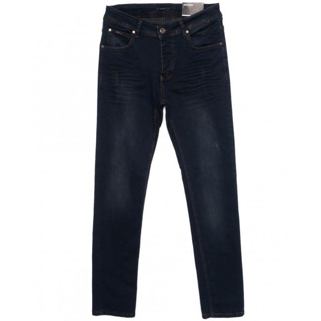 0292 Red Moon джинсы мужские синие осеннии стрейчевые (31-38, 6 ед.) Red Moon: артикул 1098590