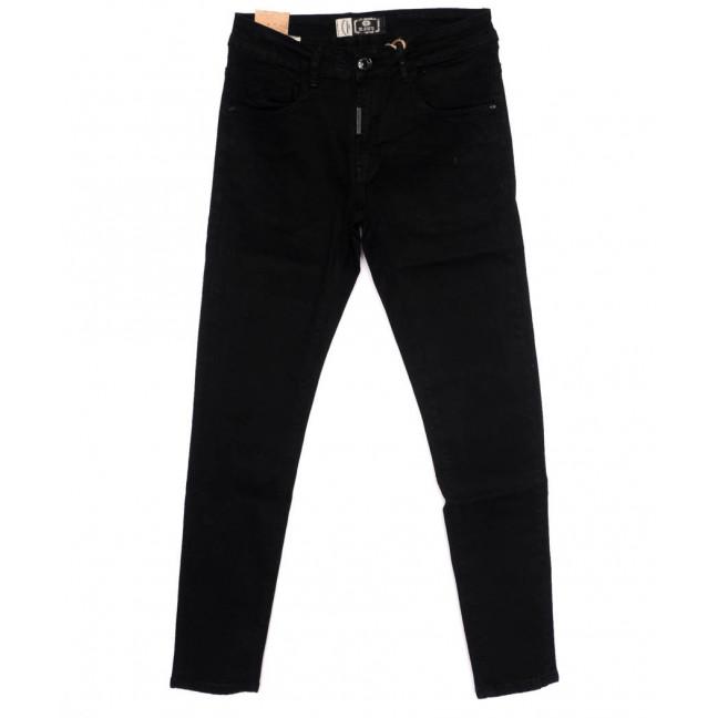 0182 M.Sara джинсы мужские молодежные черные осенние стрейчевые (28-35, 6 ед.) M.Sara: артикул 1097641