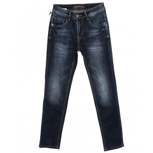 6115 Fansida джинсы мужские синие осенние стрейчевые (29-38, 8 ед.) Fansida: артикул 1098360