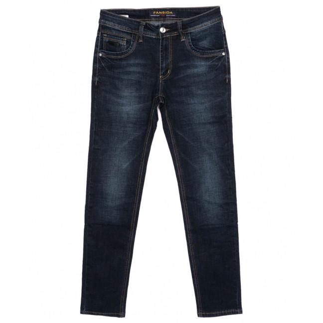6113 Fansida джинсы мужские синие осенние стрейчевые (31-38, 8 ед.) Fansida: артикул 1098362