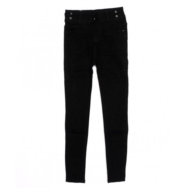3390 New jeans американка черная осенняя стрейчевая (25-30, 6 ед.)  New Jeans: артикул 1098611