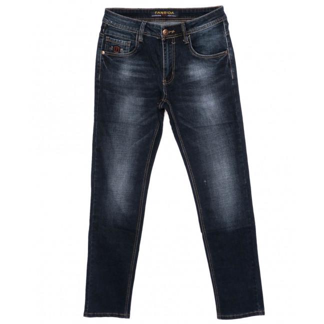 6112 Fansida джинсы мужские батальные синие осенние стрейчевые (32-38, 8 ед.) Fansida: артикул 1098367