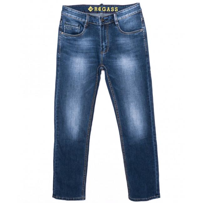 7898-03 Regass джинсы мужские синие осенние стрейчевые (31-38, 8 ед.) Regass: артикул 1096970