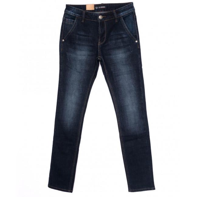 1019 LS джинсы мужские молодежные синие осенние стрейчевые (27-34, 8 ед.) LS: артикул 1097522